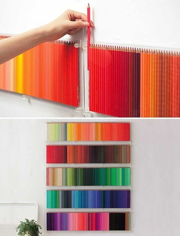 25+ Cool No-Money Decorating Projects That Will Beautify Your Decor Through Wall Art homesthetics decor (22)