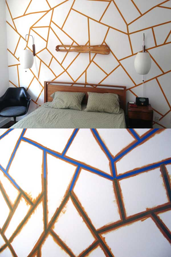 25 cool no money decorating projects that will beautify Simple wall art