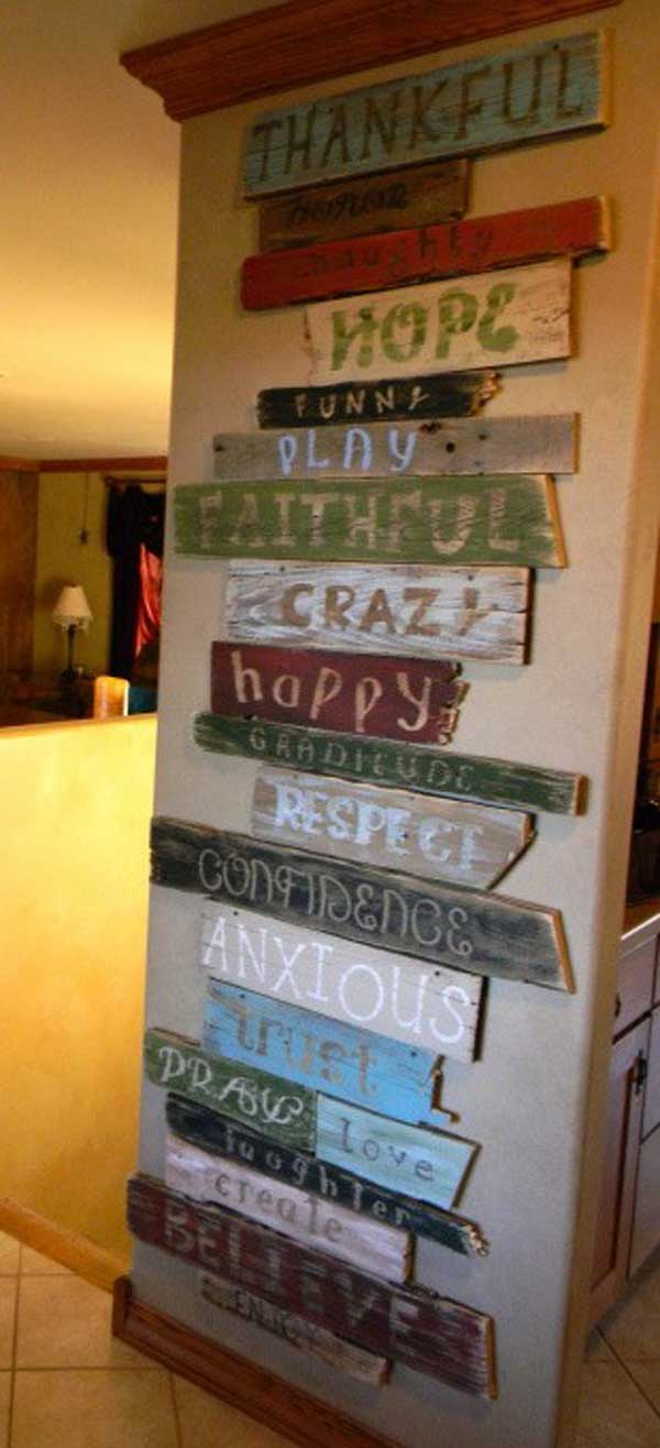 25+ Cool No-Money Decorating Projects That Will Beautify Your Decor Through Wall Art homesthetics decor (26)