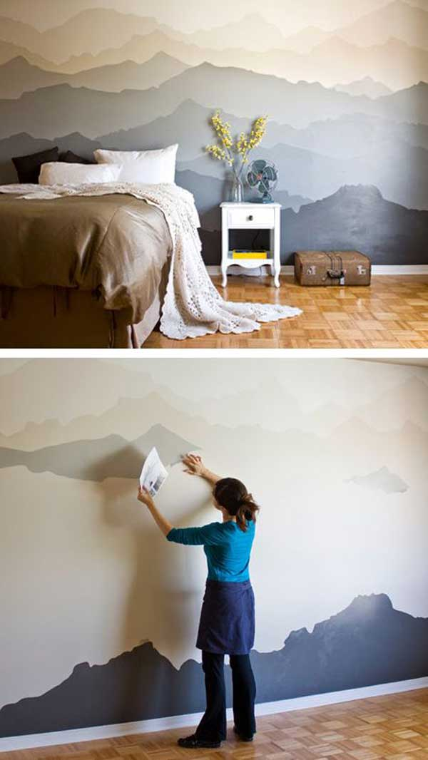 25+ Cool No-Money Decorating Projects That Will Beautify Your Decor Through Wall Art homesthetics decor (7)