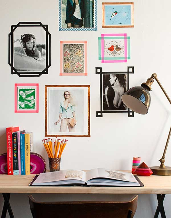 25+ Cool No-Money Decorating Projects That Will Beautify Your Decor Through Wall Art homesthetics decor (9)