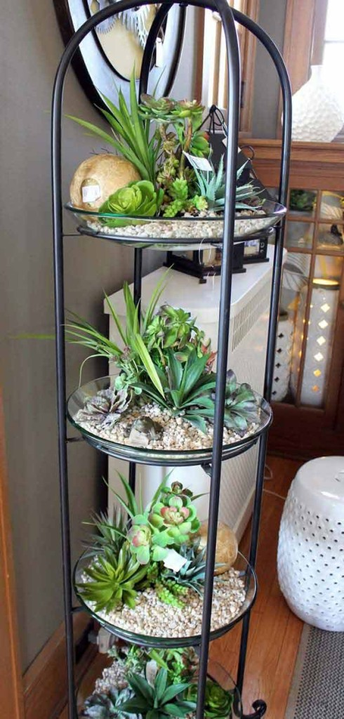25+ Smart Miniaturized Indoor Garden Projects That You Would Really Love homesthetics decor (25)