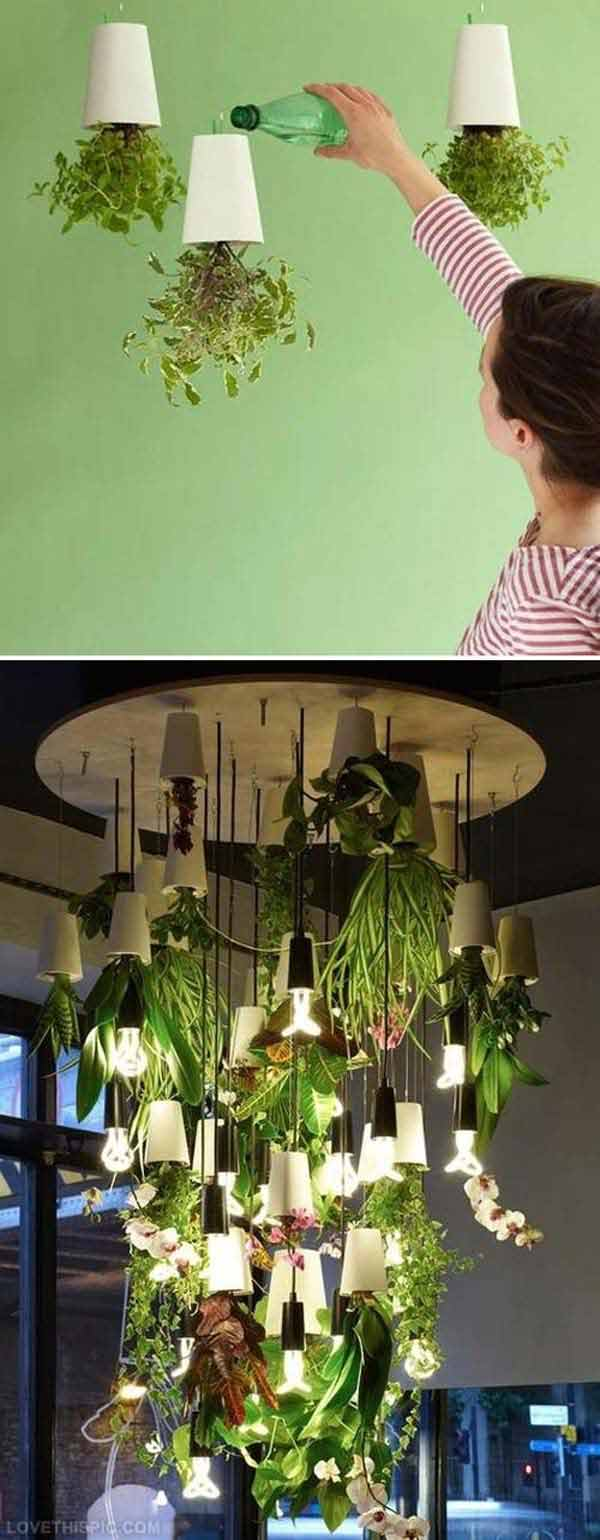 Indoor Garden And Lighting 25 smart miniaturized indoor garden projects that you would really love 26 offer your plants natural and artificial lighting and enhance your decor with a plant lighting fixture 25 smart miniaturized indoor garden workwithnaturefo
