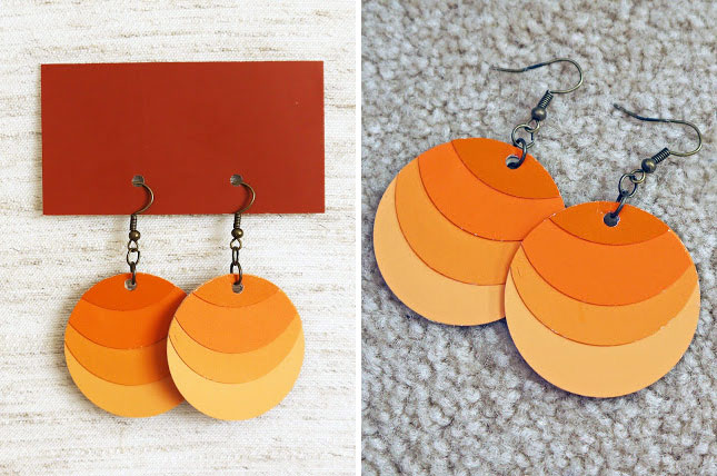 25 creative fun paint chip DIY projects_homesthetics.net (12)