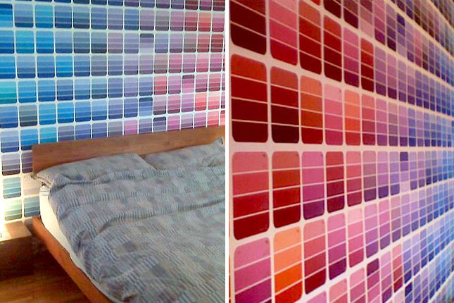 25 creative fun paint chip DIY projects_homesthetics.net (16)