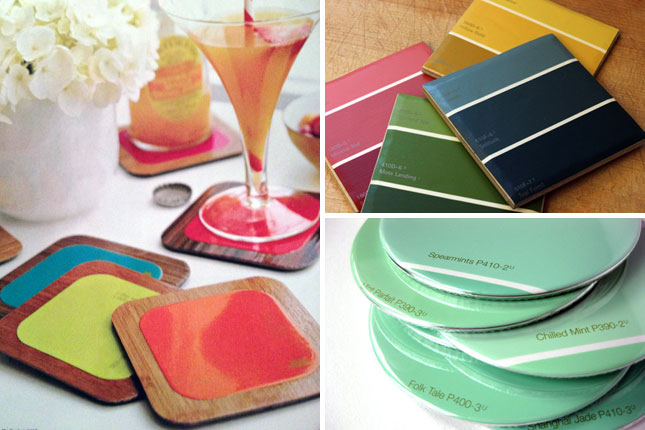 25 creative fun paint chip DIY projects_homesthetics.net (17)