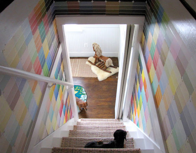 25 creative fun paint chip DIY projects_homesthetics.net (23)