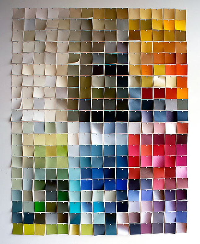 25 creative fun paint chip DIY projects_homesthetics.net (24)
