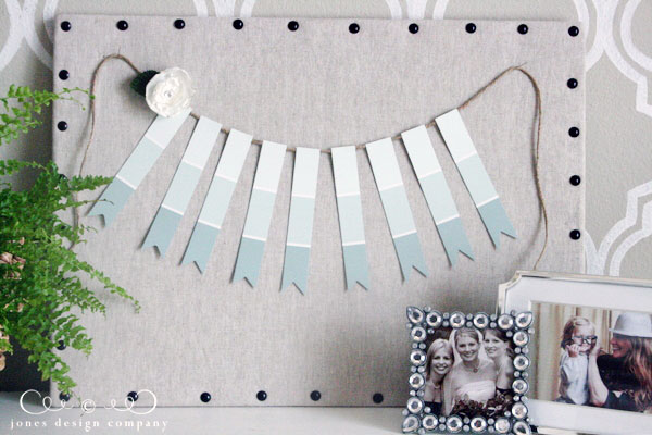 25 creative fun paint chip DIY projects_homesthetics.net (25)