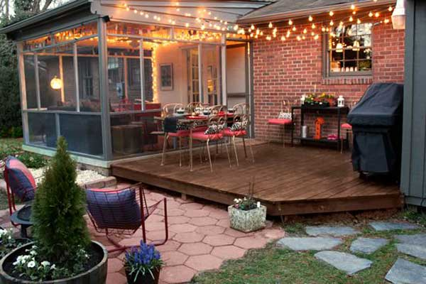 26 Jaw Dropping Beautiful Yard and Patio String Lighting Ideas For a Small Heaven homesthetics backyard landscaping ideas (10)