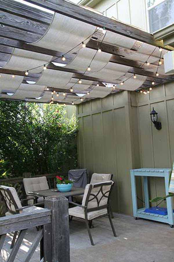 26 Jaw Dropping Beautiful Yard and Patio String Lighting Ideas For a Small Heaven homesthetics backyard landscaping ideas (15)
