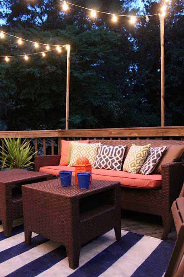 24 Jaw Dropping Beautiful Yard And Patio String Lighting