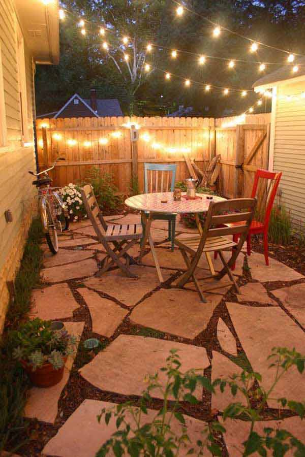 image outdoor string lights patio ideas. Delighful Ideas 26 Jaw Dropping Beautiful Yard And Patio : outdoor lights patio - www.canuckmediamonitor.org