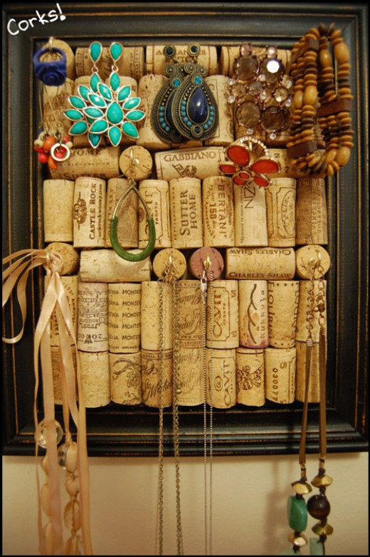 27 Insanely Beautiful Homemade Wine  Cork Projects Exuding Coziness and Warmth homesthetics decor (21)