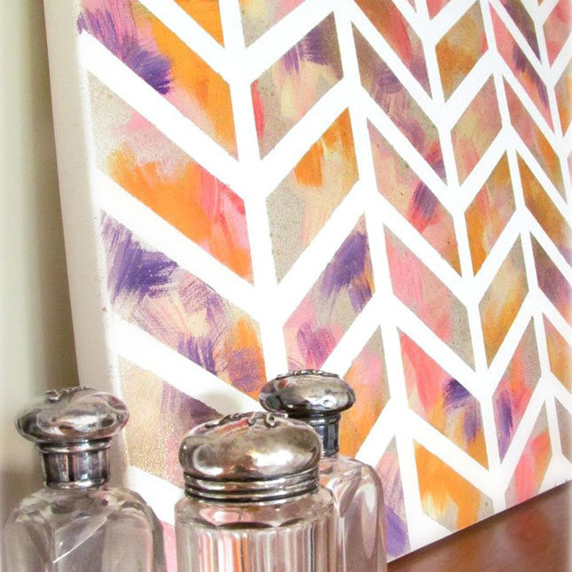 30 Outrageously Beautiful DIY Wall Art Projects That Will Enhance Your Decor homesthetics decor (2)