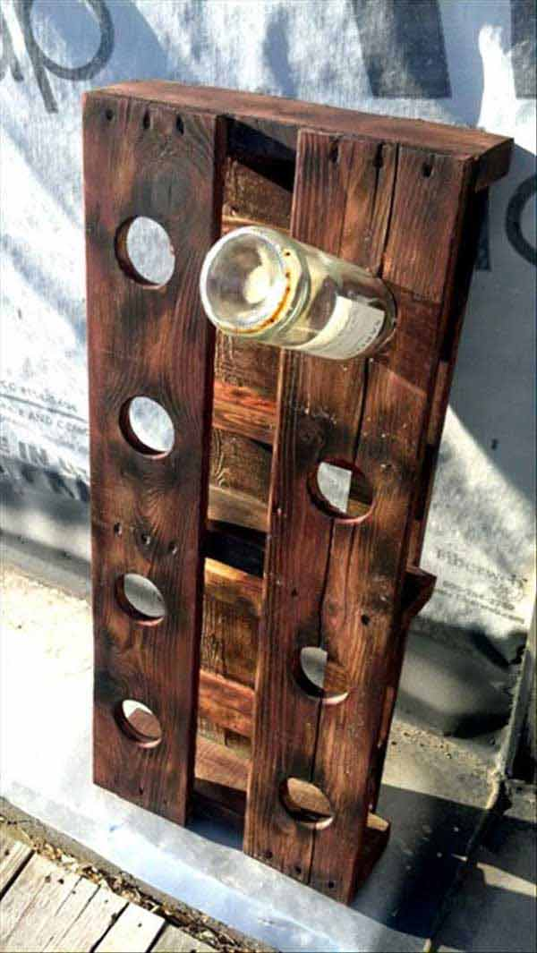 #21 WINE BOTTLE HOLDER