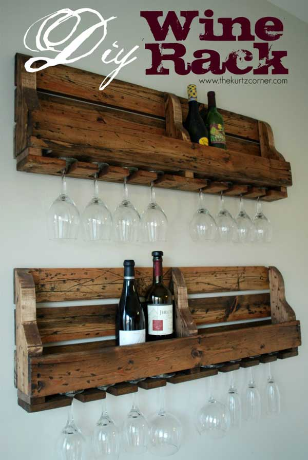 #3 SIMPLE GRAPHIC WINE RACK