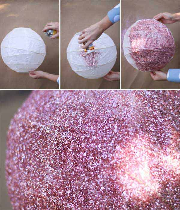 31 Glamorous Sparkling DIY Decoration Ideas To Beautify Your Decor homesthetics decor (11)