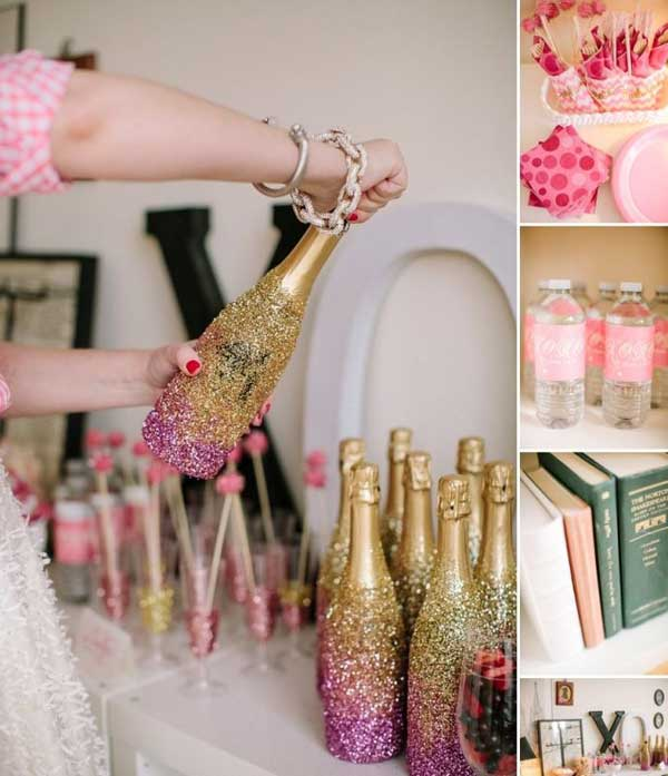 31 Glamorous Sparkling DIY Decoration Ideas To Beautify Your Decor homesthetics decor (21)
