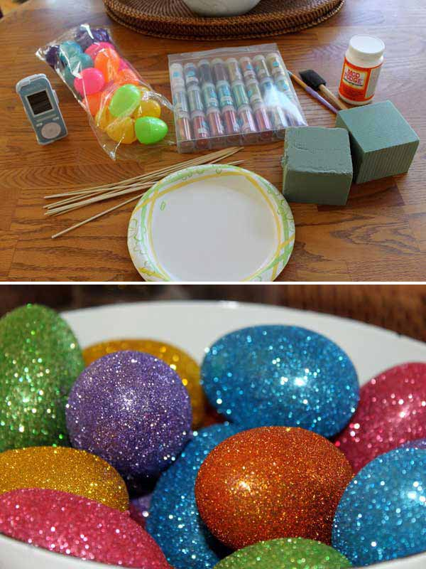 31 Glamorous Sparkling DIY Decoration Ideas To Beautify Your Decor homesthetics decor (22)
