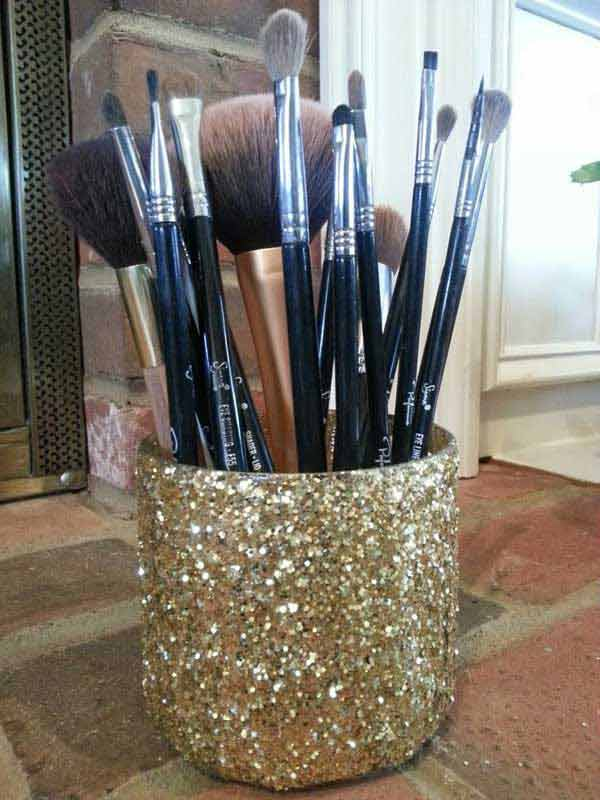 31 Glamorous Sparkling DIY Decoration Ideas To Beautify Your Decor homesthetics decor (23)