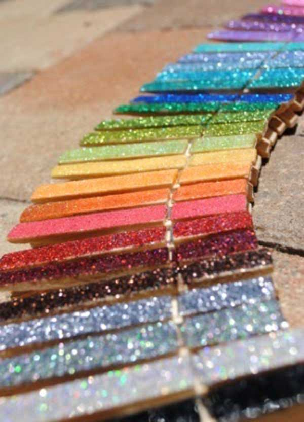 31 Glamorous Sparkling DIY Decoration Ideas To Beautify Your Decor homesthetics decor (26)