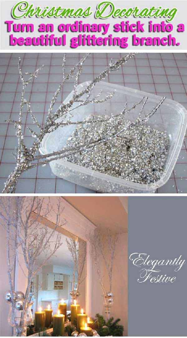 31 Glamorous Sparkling DIY Decoration Ideas To Beautify Your Decor homesthetics decor (9)