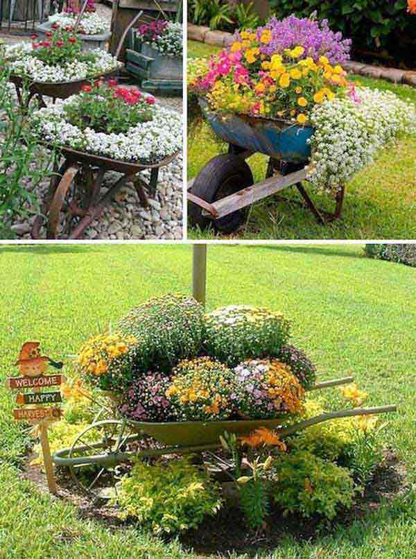 34 Easy and Cheap DIY Art Projects to Beautify Your Backyard Lanscape homesthetics decor (24)