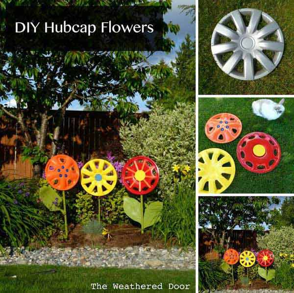 34 Easy and Cheap DIY Art Projects to Beautify Your Backyard Lanscape homesthetics decor (25)