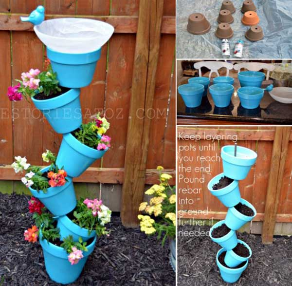 34 Easy And Diy Art Projects To Beautify Your Backyard Lanscape Homesthetics Decor 3