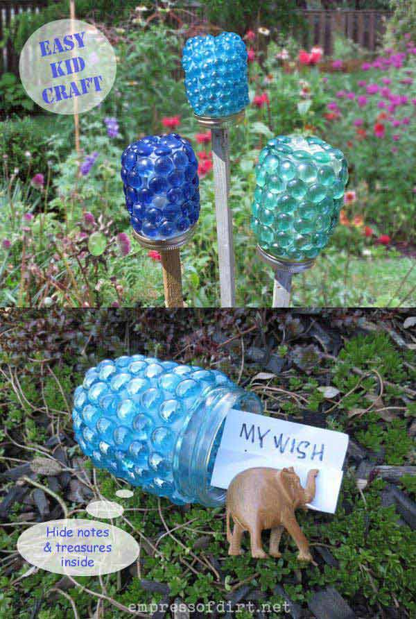 34 Easy and Cheap DIY Art Projects to Beautify Your Backyard Lanscape homesthetics decor (7)
