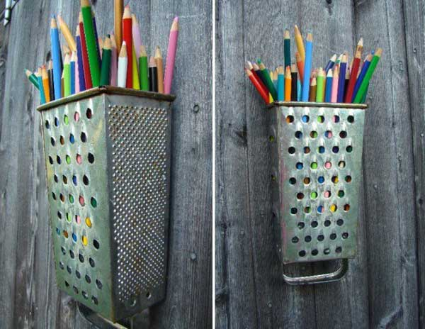 38 Ingeniously Clever Ways To Repurpose Old Kitchen Items homesthetics decor (18)