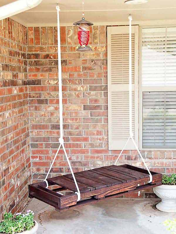#17 NEAT SIMPLE PATIO SWING