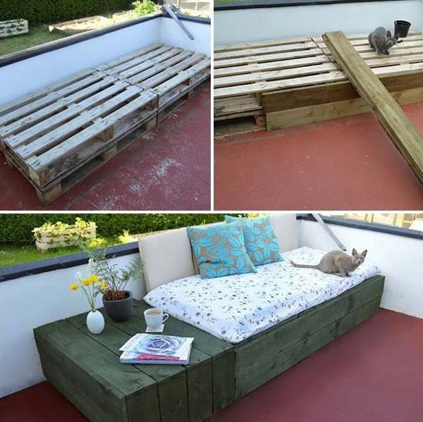 39 Insanely Smart And Creative DIY Outdoor Pallet