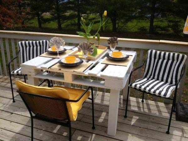 #39 OUTDOOR DINNING TABLE FOR YOUR PATIO