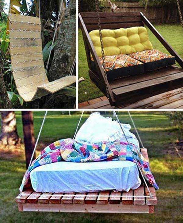 #6 CRATE A COMFORTABLE OUTDOOR SWING