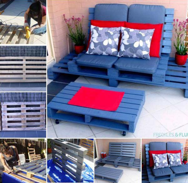 #9 YOU CAN MATERIALIZE INSANELY BEAUTIFUL WOODEN PALLETS FURNITURE