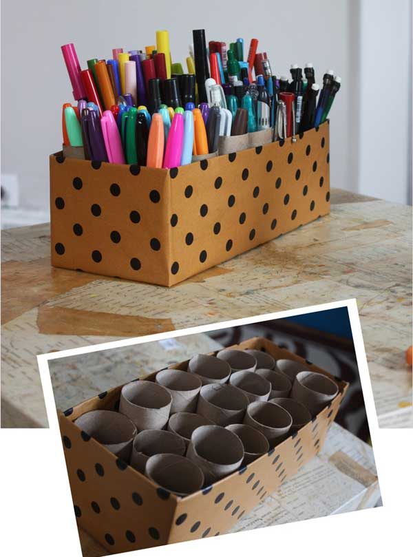 38 Simply Brilliant Tiny Stuff Organization Hacks That Declutter Your Home homesthetics decor (9)