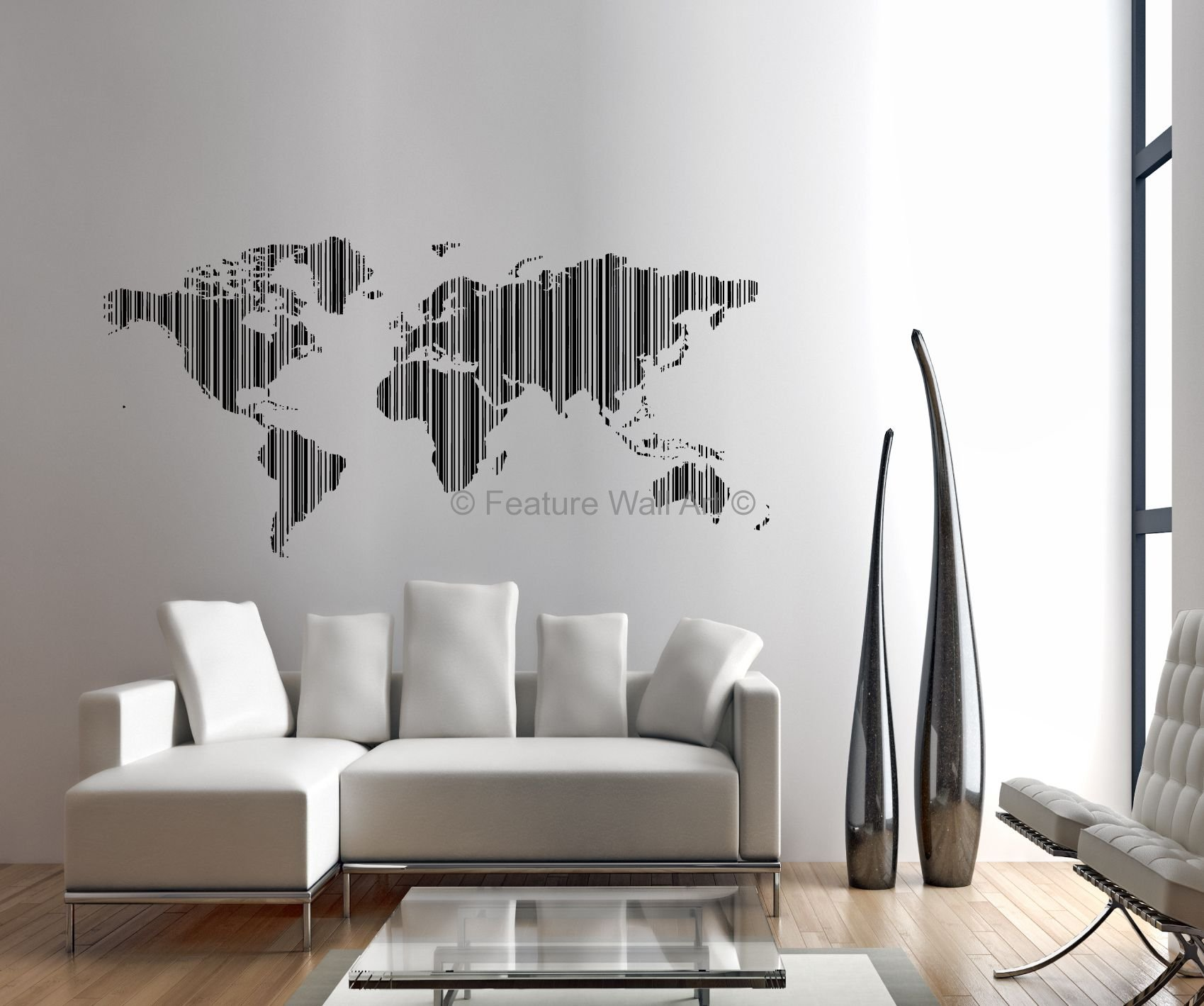 Incorporate maps into your wall art projects. & 34 Beautiful Wall Art Ideas And Inspiration