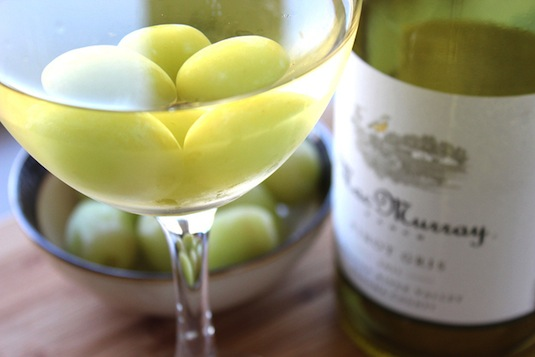 50. COOL DOWN WINE WITH FROZEN GRAPES