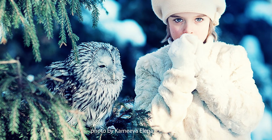 Children And Animals Cuddle In Cute Photoshoots By Russian Photographer Elena Karneeva homesthetics decor (9)