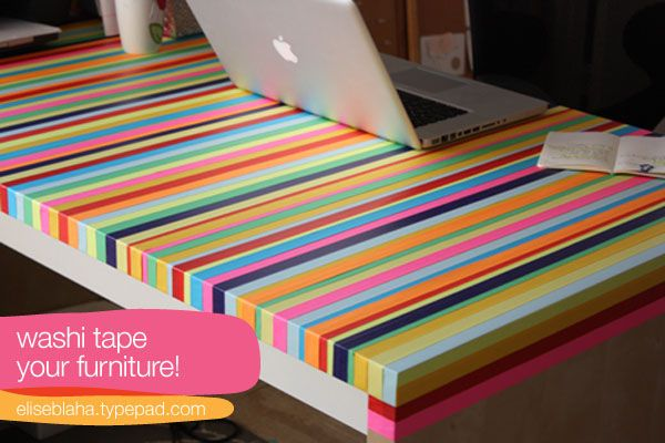 Beau Washi Tape Your Furniture