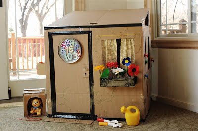 24.BUILD A HOUSE FOR THE PETS AS WELL