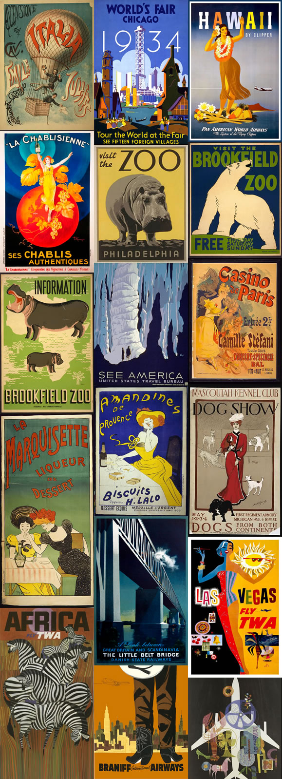 Free Printables Of Insanely Beautiful Vintage Posters That