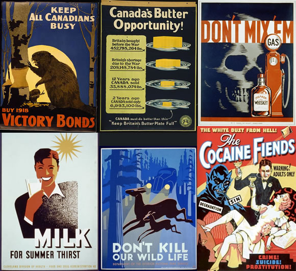 FREE Printables of Insanely Beautiful Vintage Posters That You Can Transform Into Wall Art homesthetics decor (29)