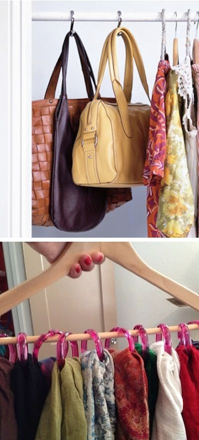 16. SHOWER HOOKS FOR YOUR CLOTHES AND ACCESSORIES