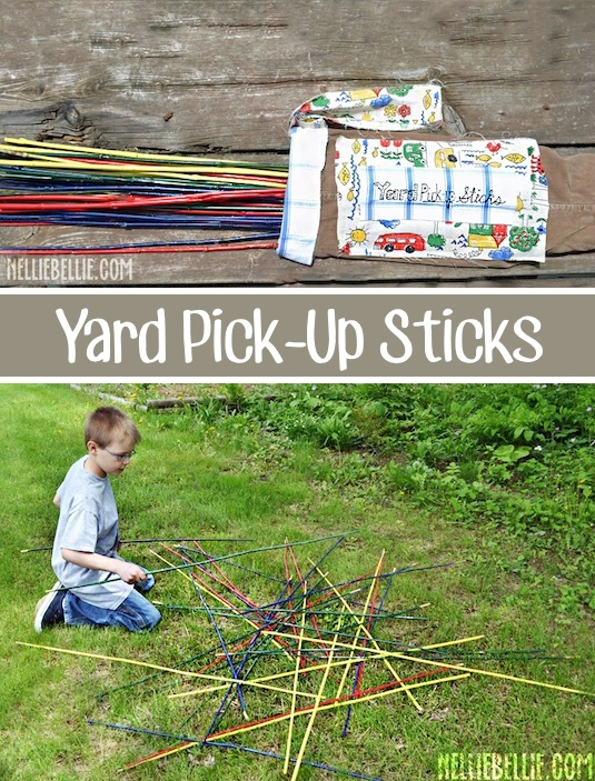 #17 Big Pick Up Sticks. The Best 32 Backyard Games ...