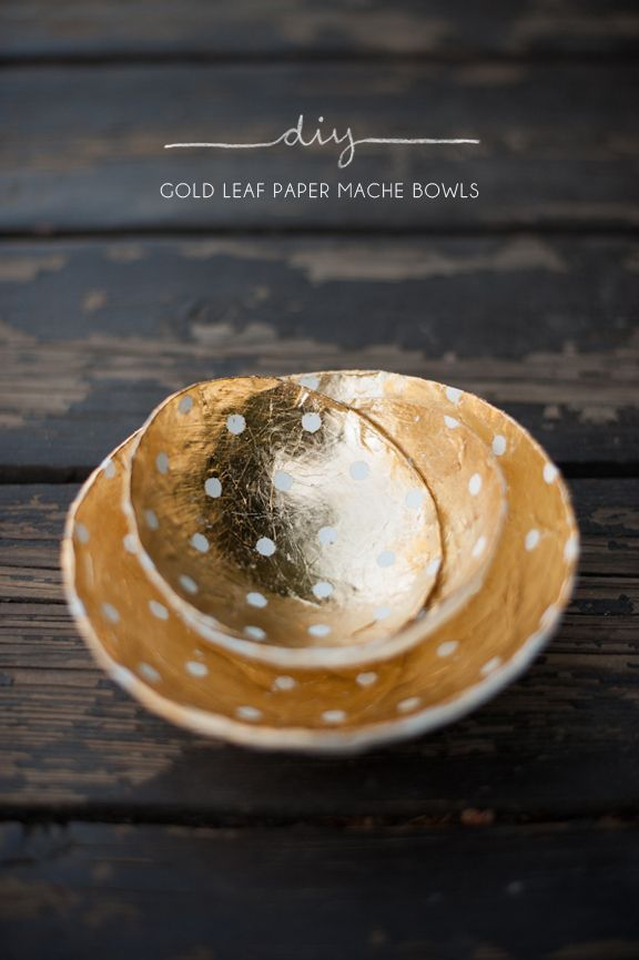 12. GOLD DECORATIVE BOWLS FROM KELLI MURRAY