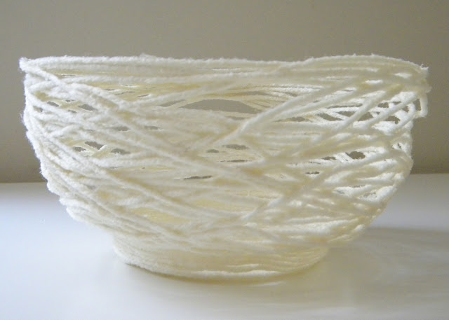 5 Yarn Bowl Accent From Home Work