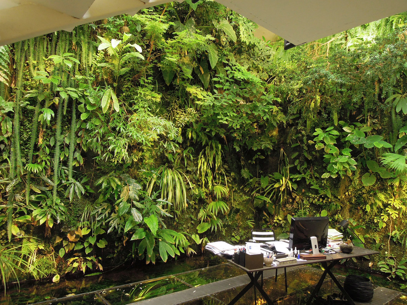 Green Living Wall Design Ideas To Beautify Your Home